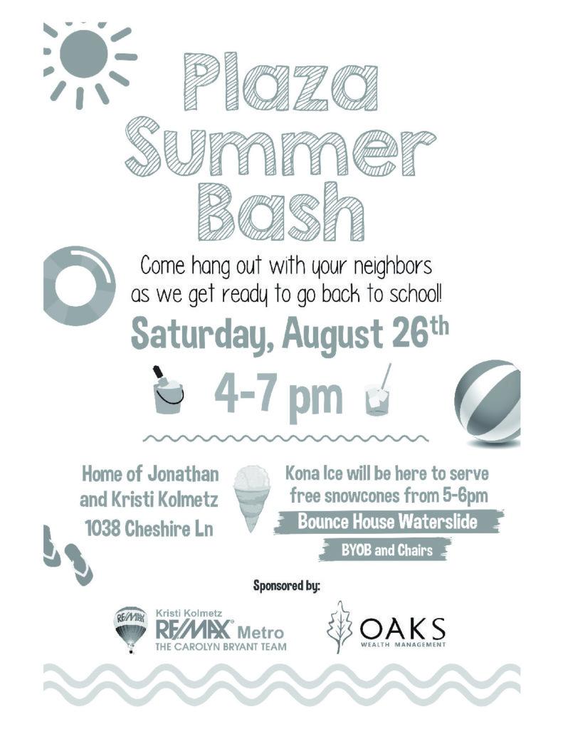 Summer Bash Invite!